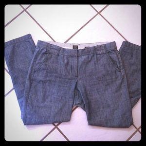 J. Crew Denim Trousers/Slacks